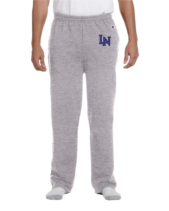Image of Embroidered Champion Sweatpants - Sport Gray