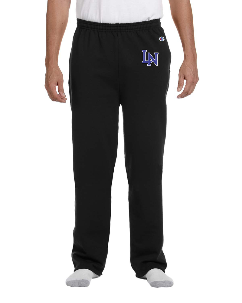Image of Embroidered Champion Sweatpants - Black