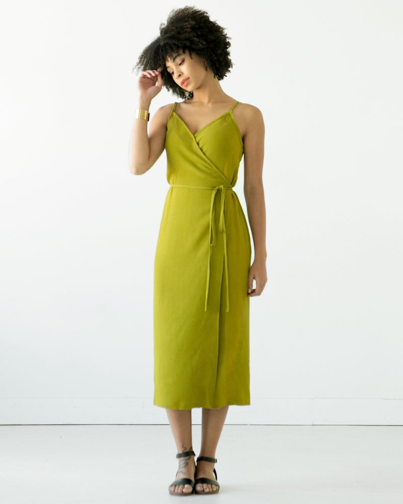 Image of CALVIN WRAP DRESS / TOP (PDF)