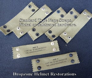 Image of Reproduction WWII type M-1 Helmet Liner Nape Straps