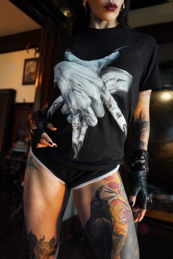 Image of Unisex Pentagram Hands Tee