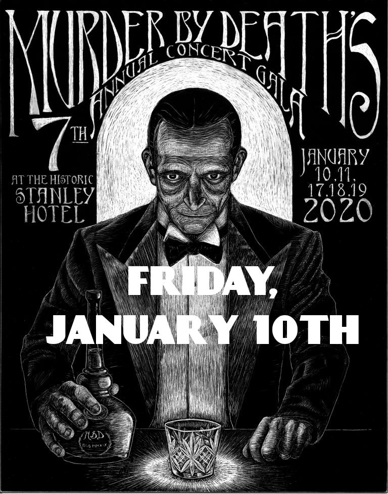 Image of Will call ticket for Friday January 10th, 2020 show at The Stanley Hotel