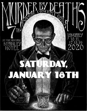 Image of Will call ticket for Saturday January 18th, 2020 show at The Stanley Hotel