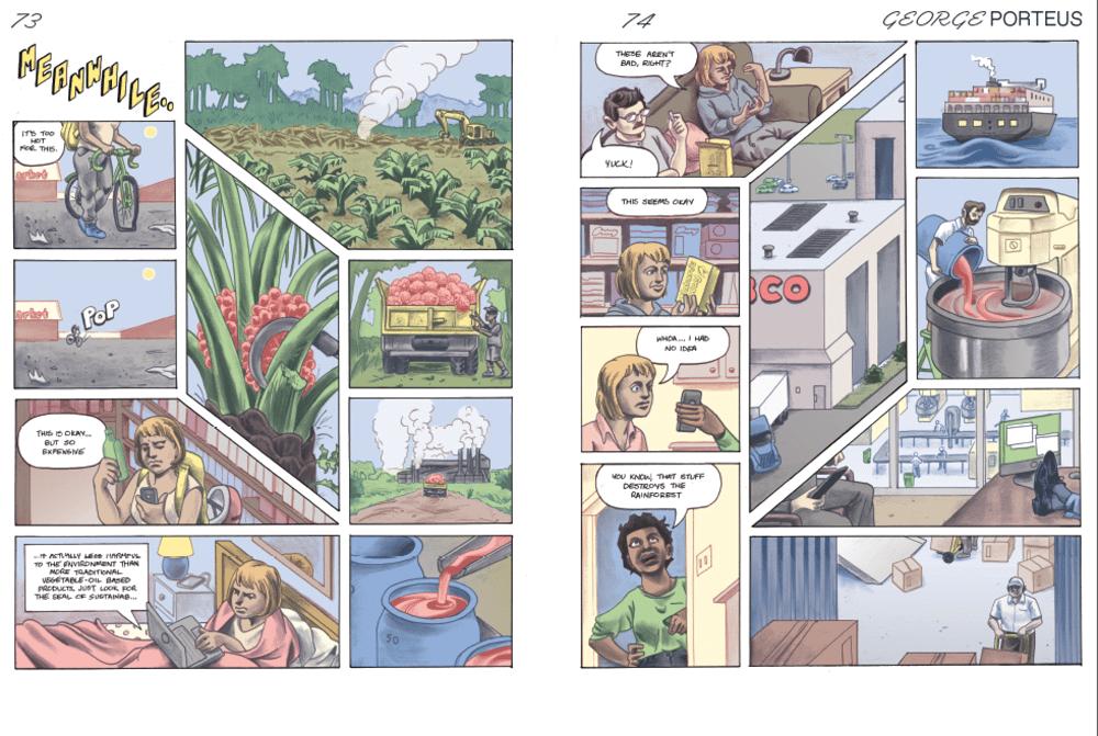 Image of Lumpen Comics Book