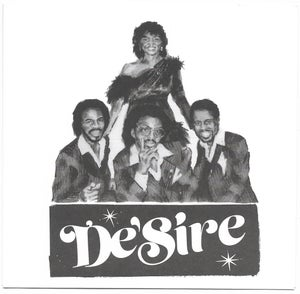 """Image of De'Sire """"Feed On The Groove"""" + """"I Don't Care"""" 45 pic sleeve boogie disco funk special release"""
