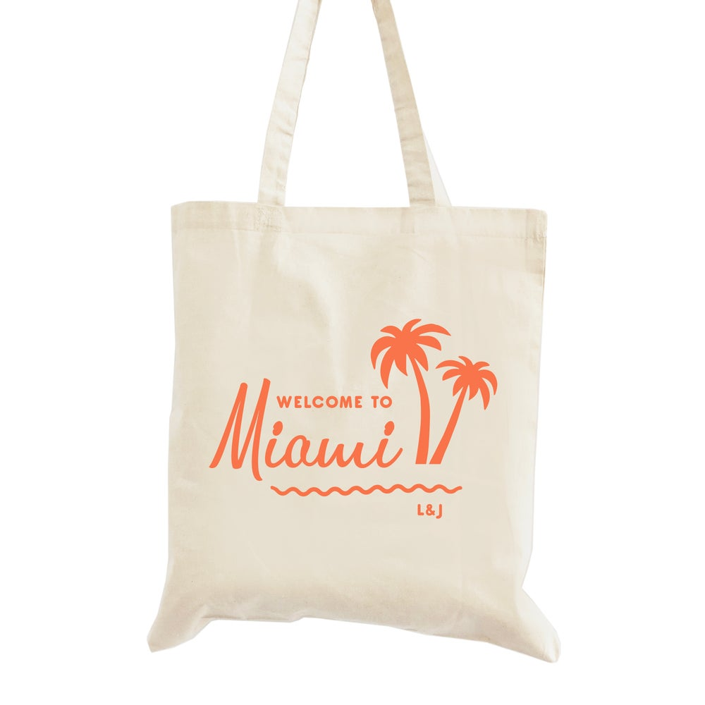 Image of Welcome to Miami Wedding Welcome Bag