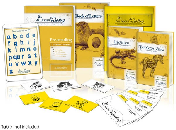 Image of All About Reading-Pre Reading-Basic Package