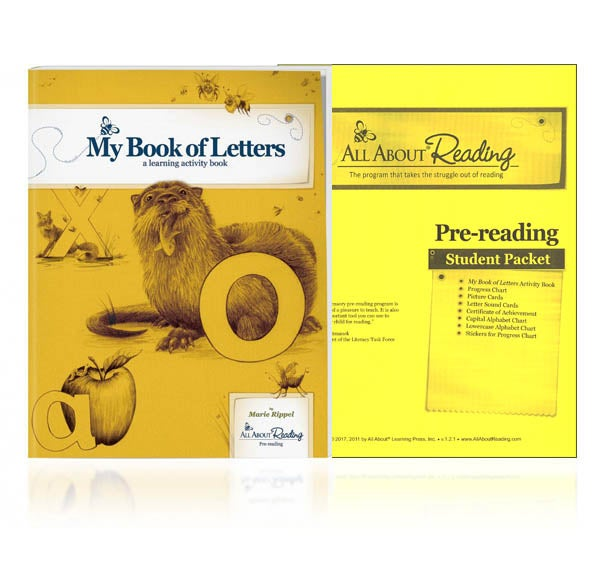 Image of All About Reading Level Pre-Reading Additional Student Material Packet