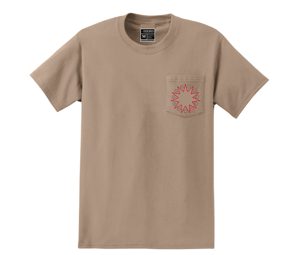 Image of 11 Pt. Star Pocket T-Shirt (S)