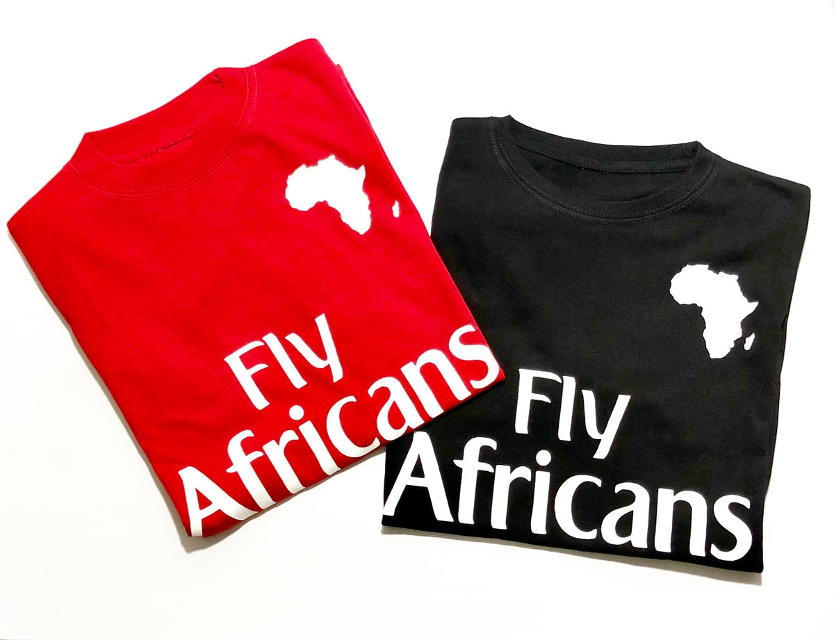 Image of Fly Africans Tee
