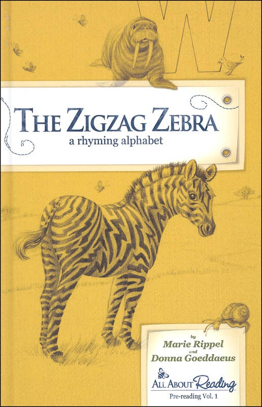 Image of Zigzag Zebra Read-Aloud Rhyming Alphabet Book
