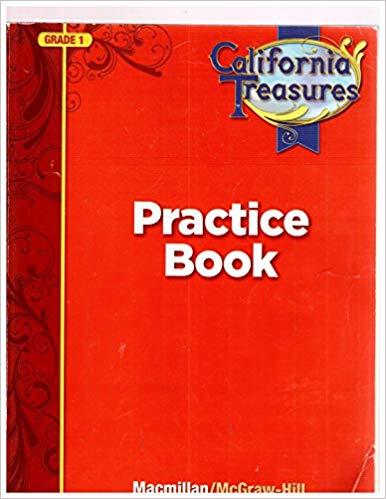 Image of California Treasures Practice Book Grade 1