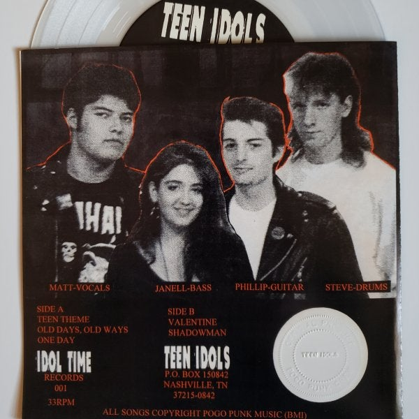 "Image of Teen Idols ""Old Days Old Ways"" 7"""
