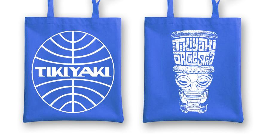 Image of OFFICIAL - TIKIYAKI - RECORD BAG