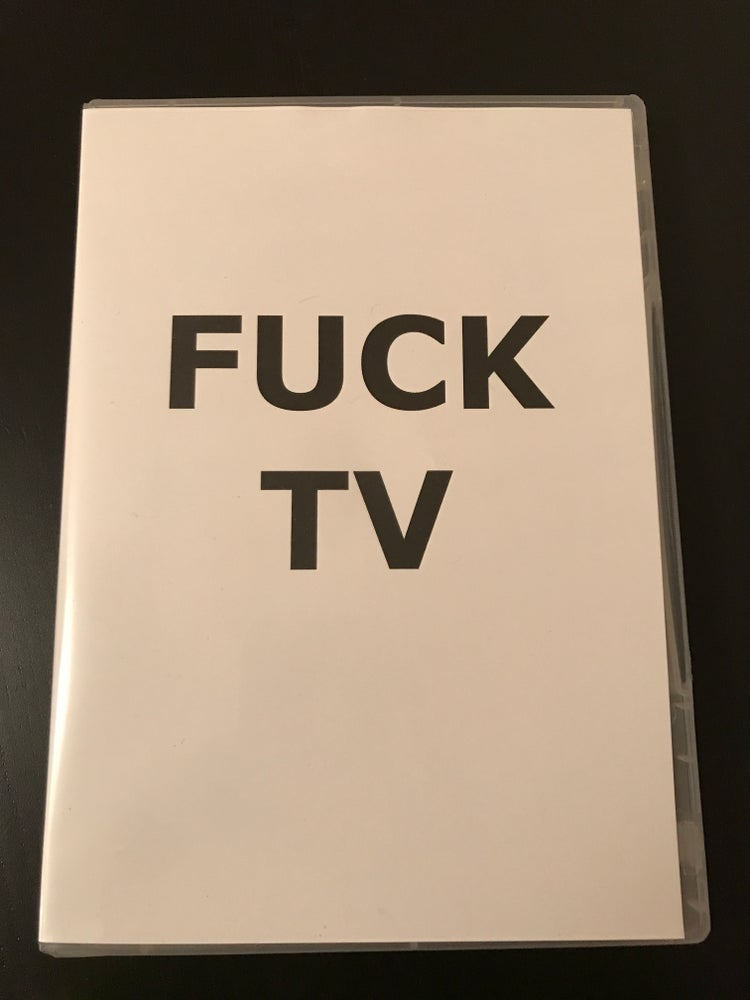 Image of FUCK TV 3xDVD set