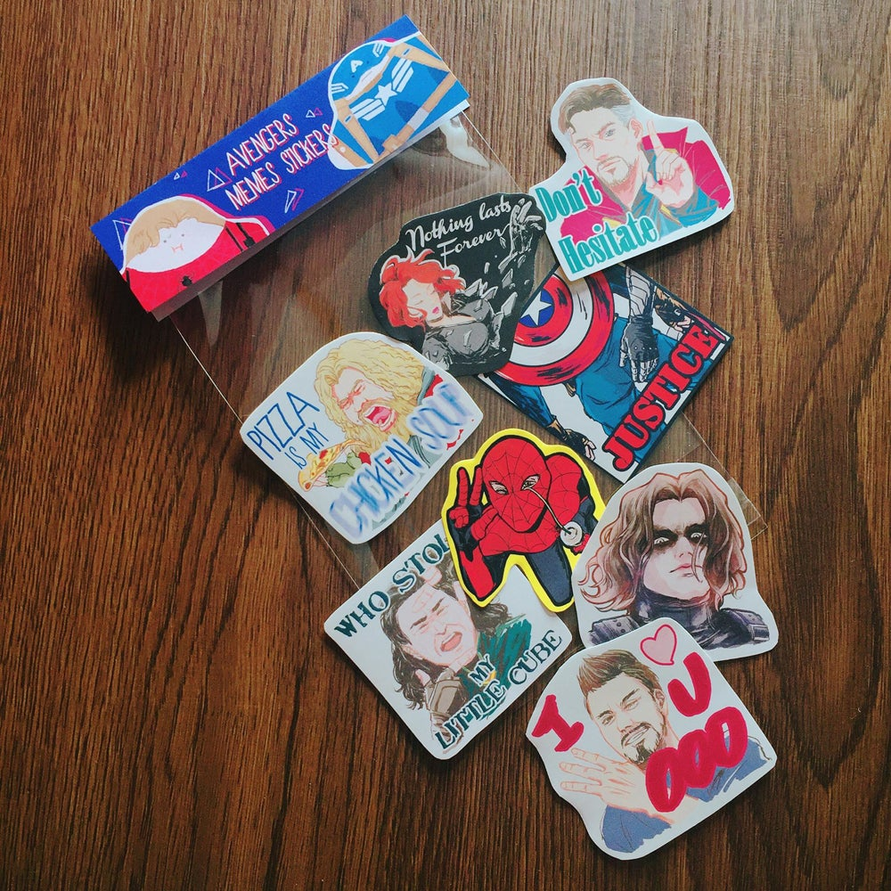 Image of Avengers stickers