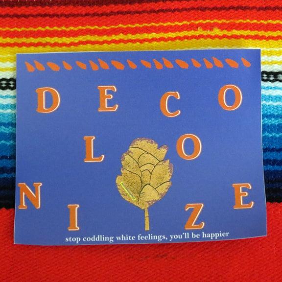 Image of Decolonize Sticker
