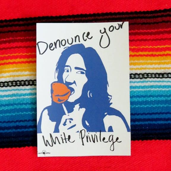 Image of White Privilege Sticker