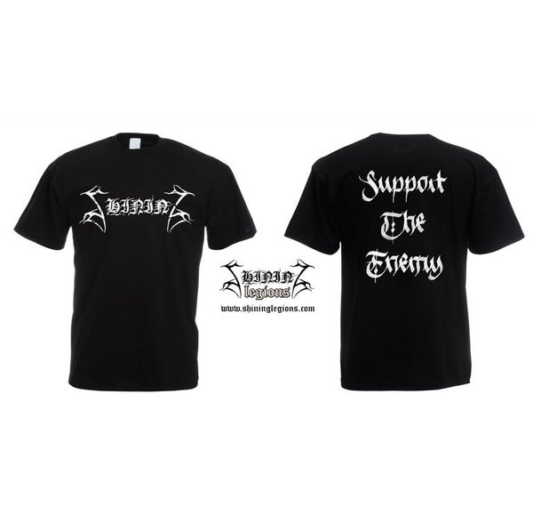 "Image of SHINING ""Support The Enemy"" T-SHIRT"