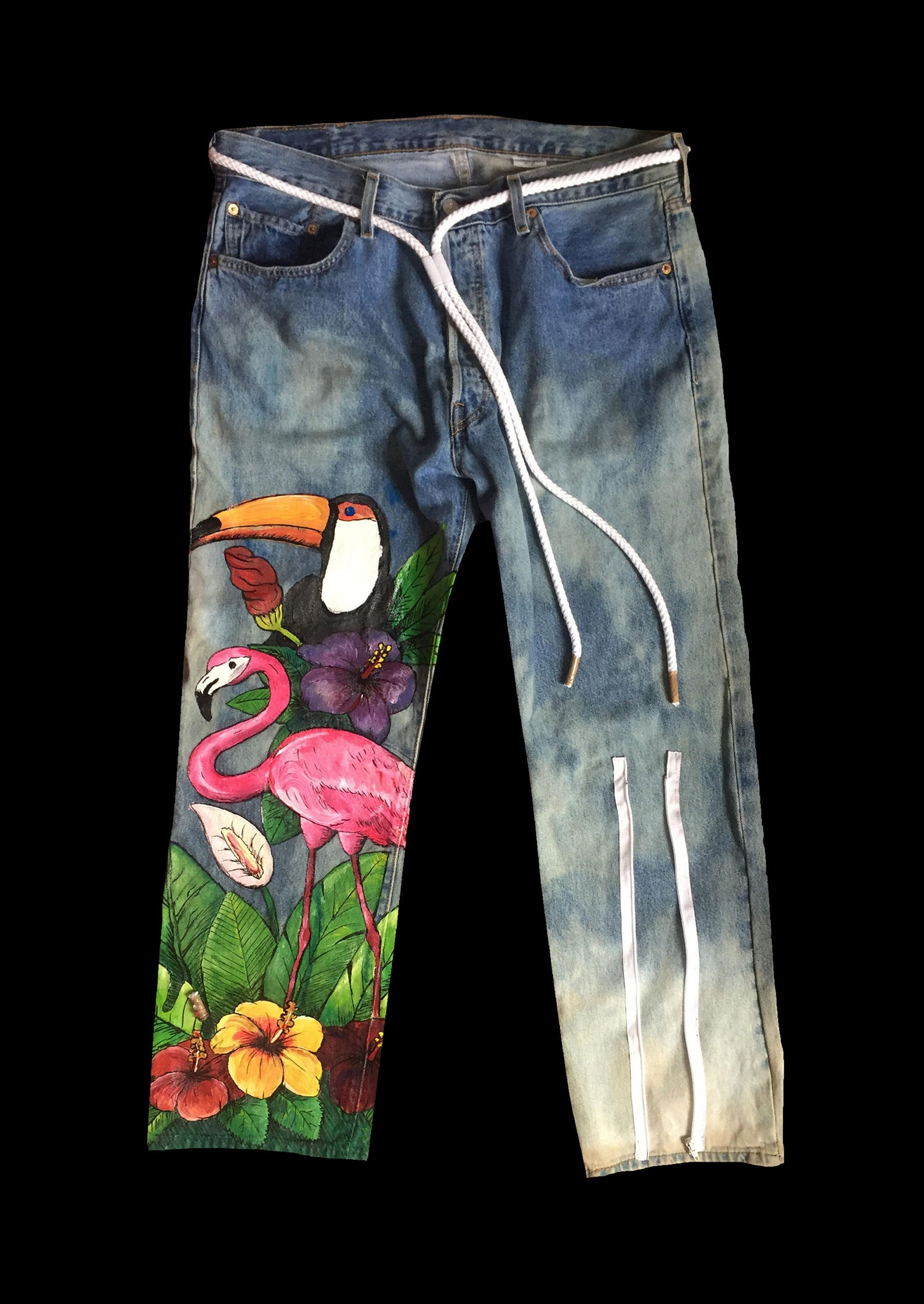 Image of FLORAL PANT