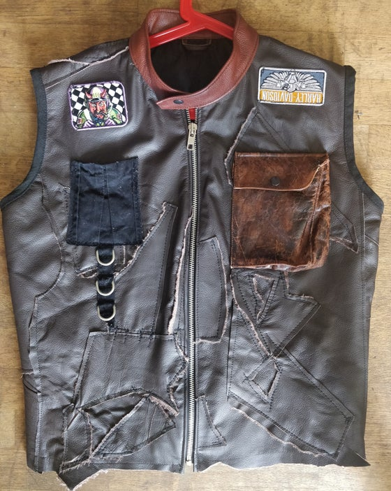 Image of Chopper leather vest