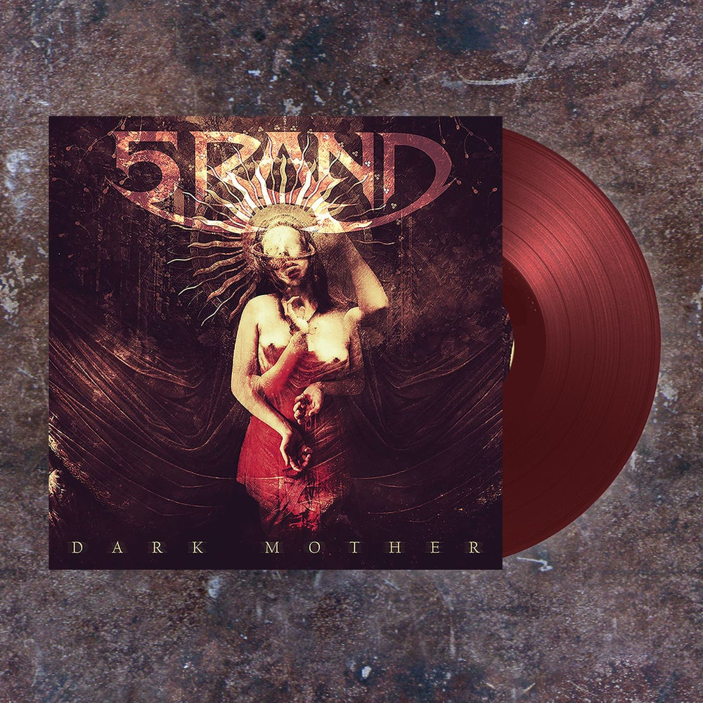 "Image of Order NOW:  5RAND - ""Dark Mother"" -  Bloody Red LP"