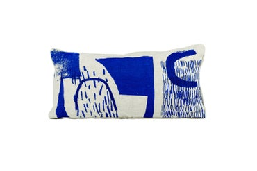 Image of 'Assemble / Configure' Cushion - Cobalt Blue