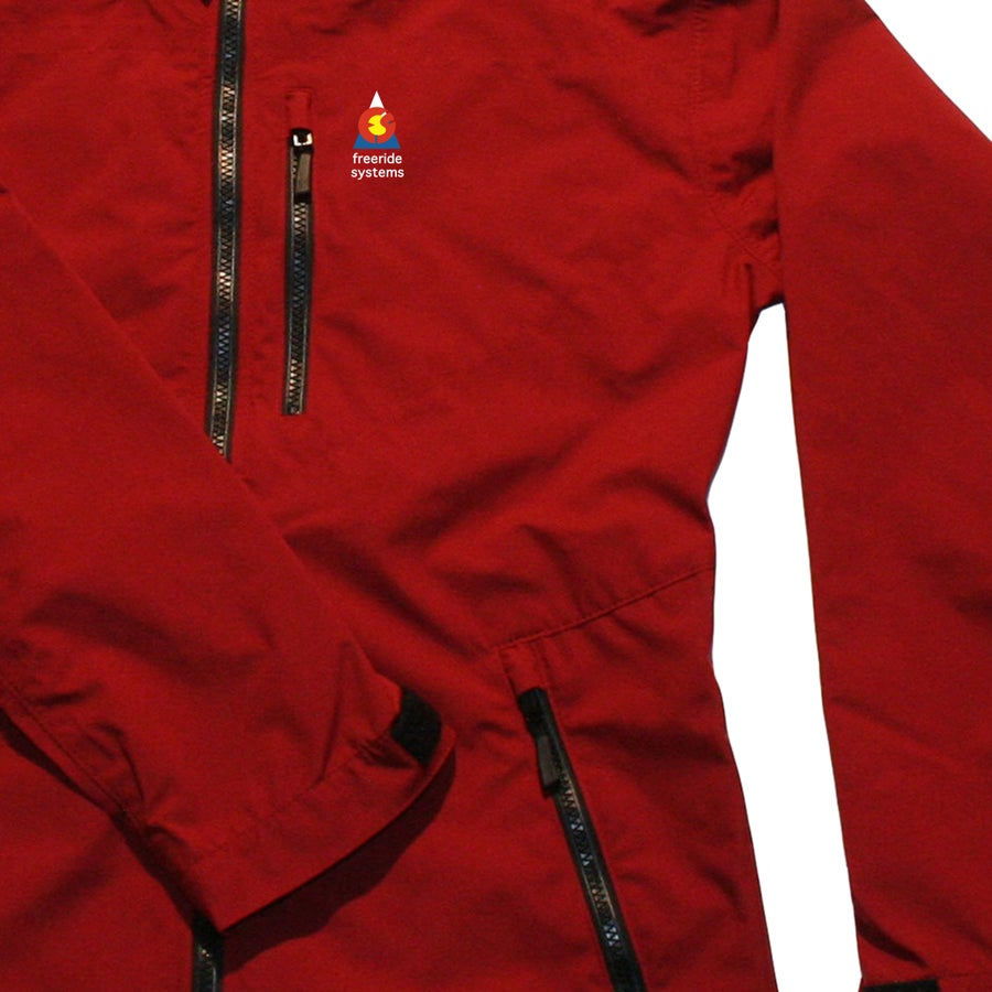Image of Antero II Plus LTE Light Hardshell Polartec Neoshell Jacket Crimson Red