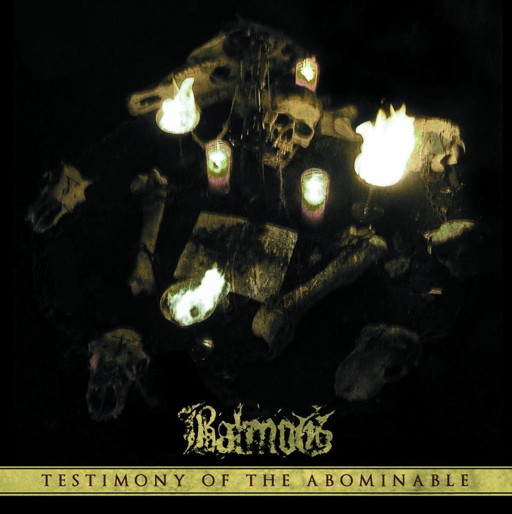"Image of BALMOG ""Testimony of the Abominable"" CD"