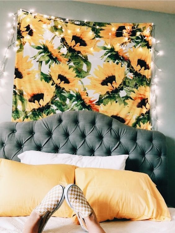 Image of Sunflower Tapestry
