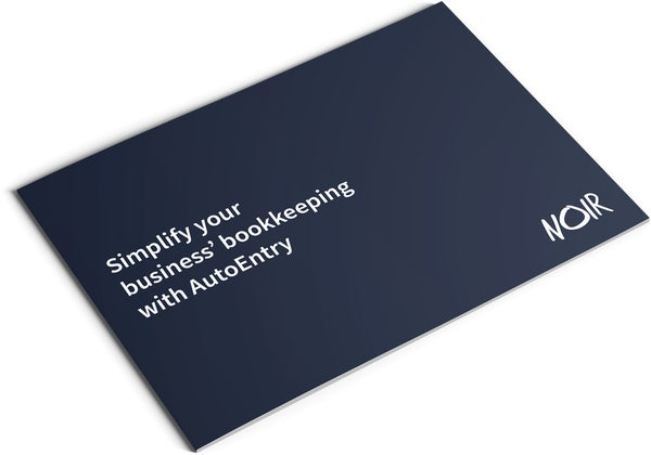 Image of AutoEntry Set Up and Training Brochure Design