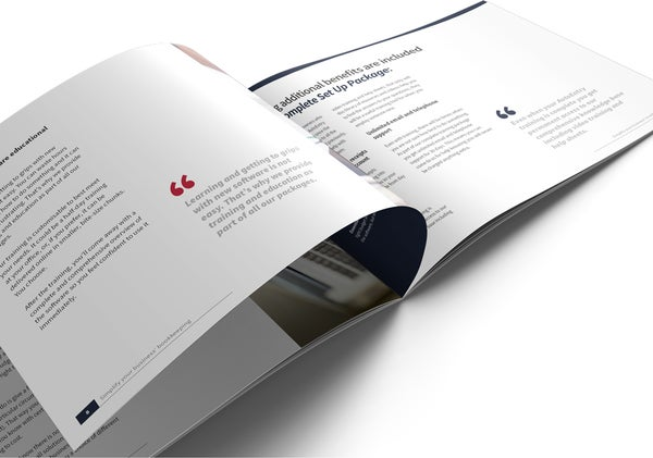 Image of AutoEntry Set Up and Training Brochure Print