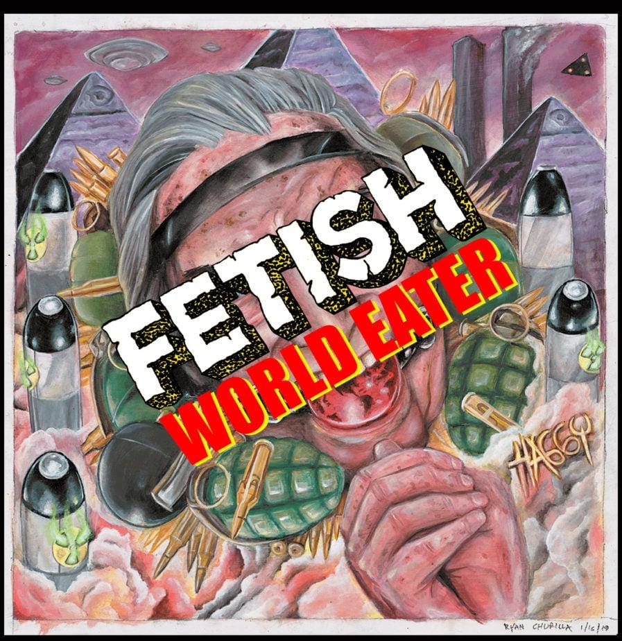 """Image of FETISH-""""World Eater"""" VINYL"""