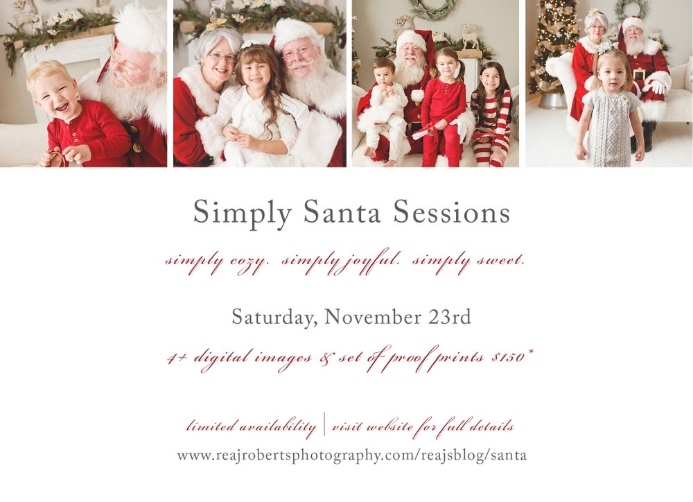 Image of Simply Santa Session