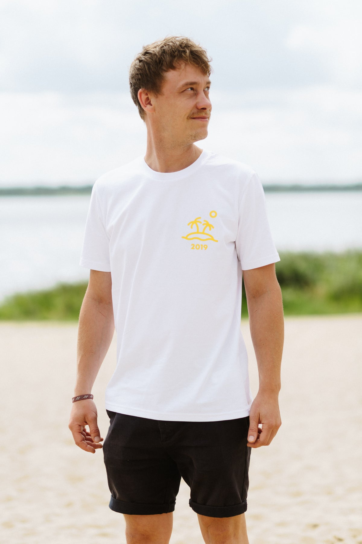 Image of T-Shirt Welcome to Drift Island 2019 (weiss)
