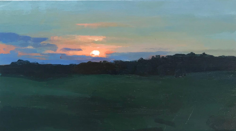 Image of Sunset over Rye