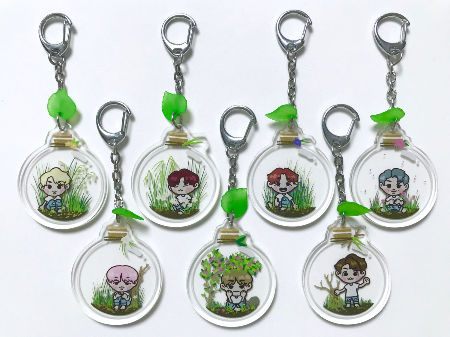 Image of BTS Bottle Charms