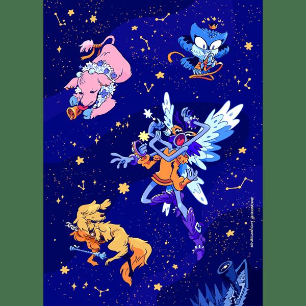 Image of Heavenly Sticker Sheet