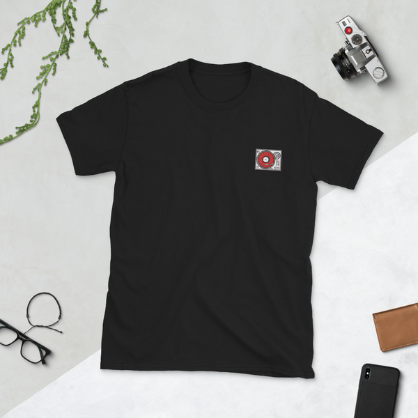 Image of Deck Embroidery T-Shirt // Dark