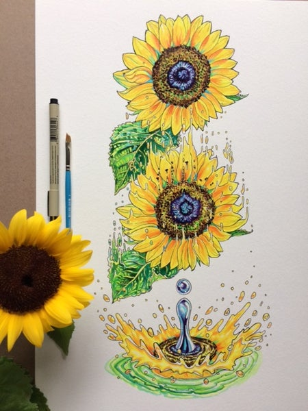 Image of Sunflower Splash