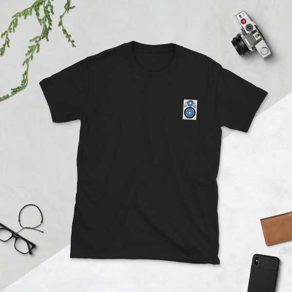 Image of Monitor Embroidery T-Shirt // Dark