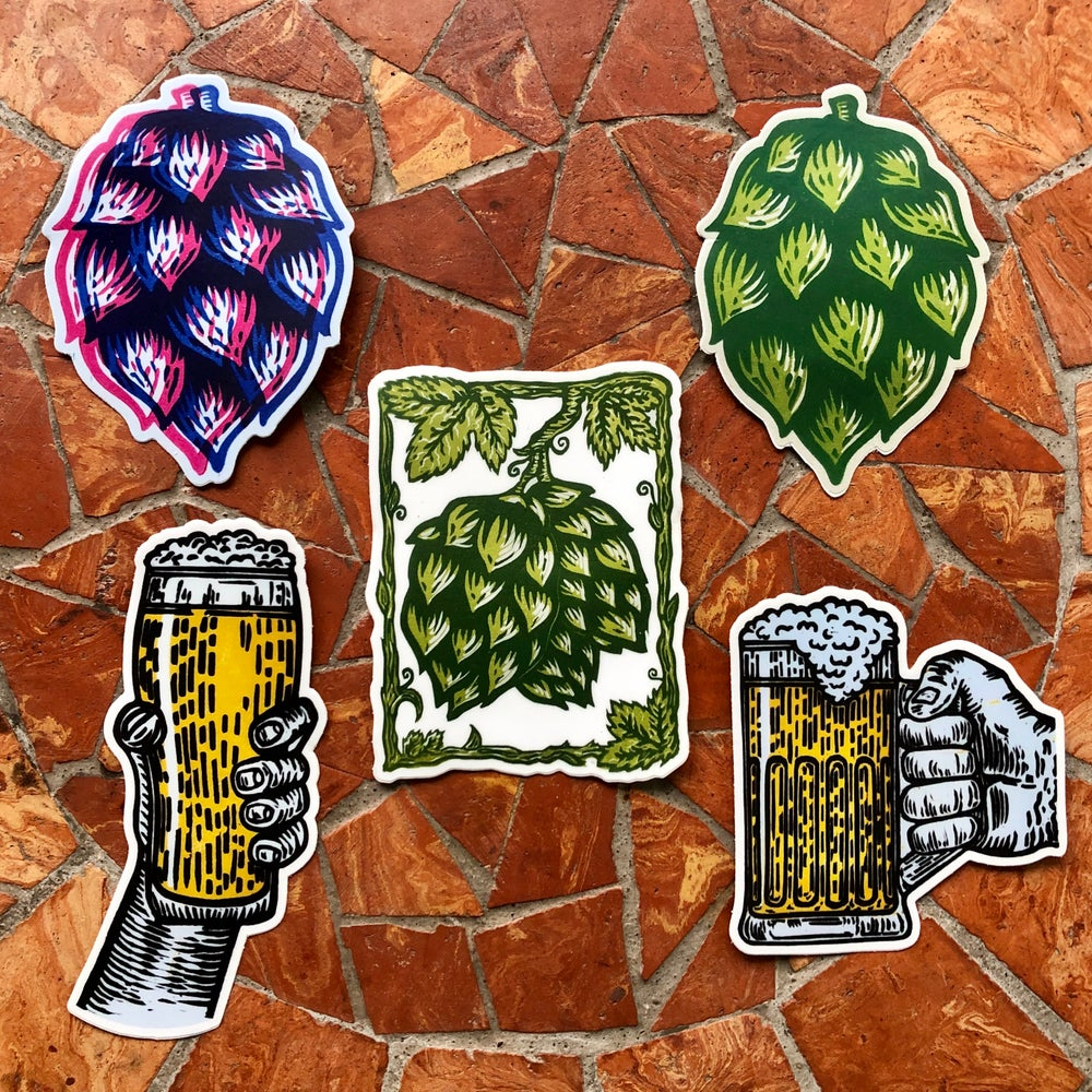 Image of Beer stickers