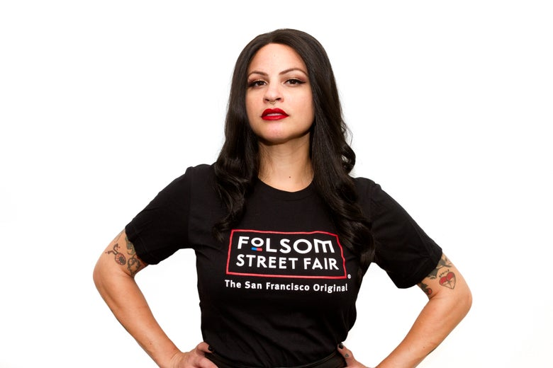 Image of Folsom Street Fair Retired Color Logo T-Shirt