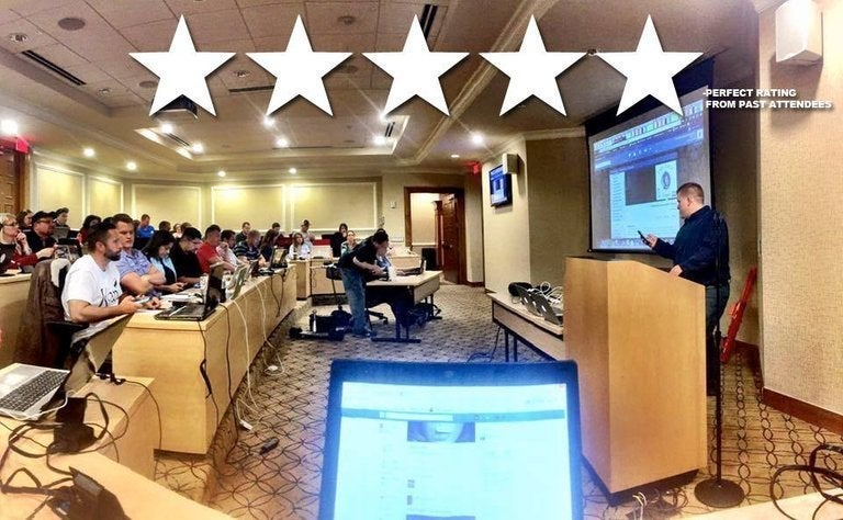 Image of Jared's Facebook Masters Class 9/21/19 9am