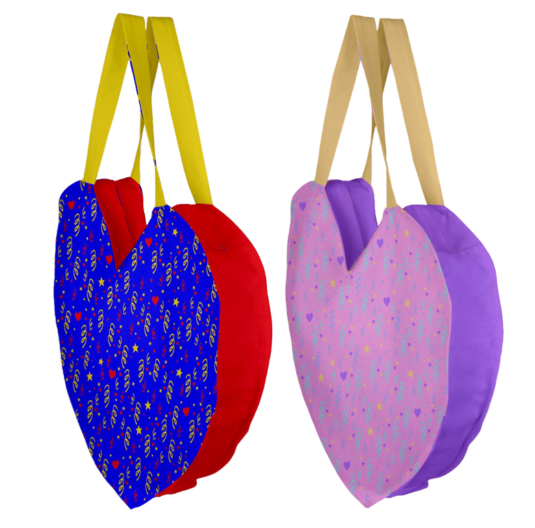 Image of GIANT HEART TOTE PREORDER