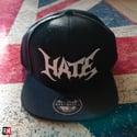 HATE sewing logo snapback hat