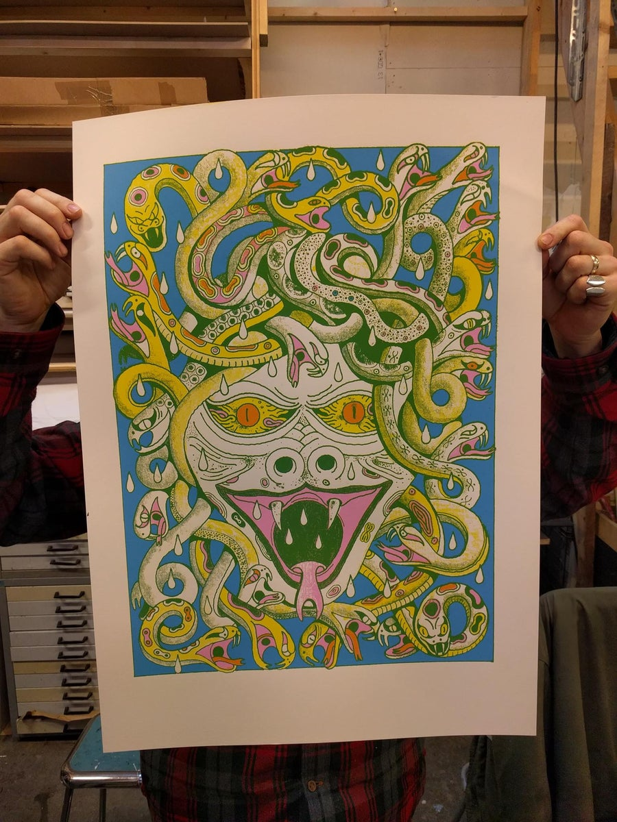 Image of Medusa- Print by Erik Pontoppidan
