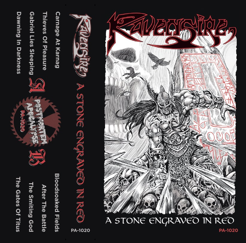 "Image of Ravensire ""A Stone Engraved In Red"" CS /// PA-2020"