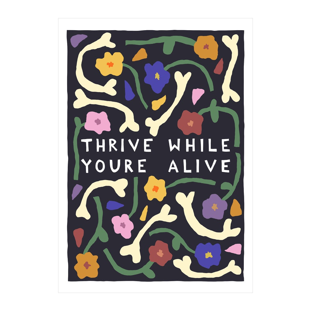 Image of Thrive While You're Alive
