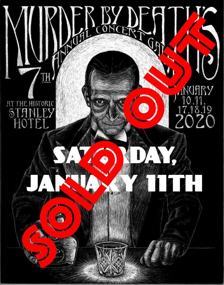 Image of Will call ticket for Saturday January 11th, 2020 show at The Stanley Hotel